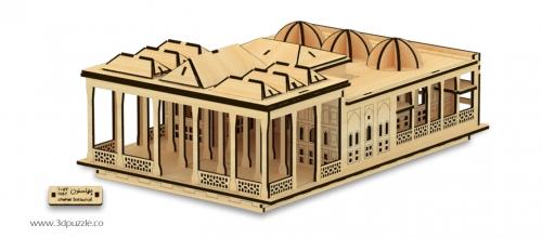پازل سه بعدی کاخ چهلستون اصفهان