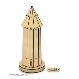 پازل سه بعدی برج گنبد قابوس، گنبد کاووس
