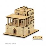 پازل سه بعدی کوچک کاخ عالی قاپو مینی