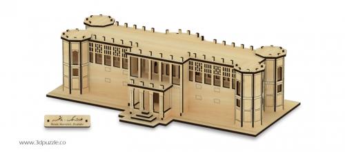 پازل سه بعدی عمارت ملک بوشهر