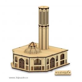 پازل سه بعدی بادگیر باغ دولت آباد
