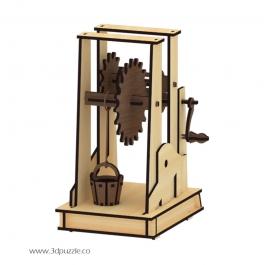 پازل سه بعدی متحرک  ماشین ساده