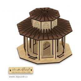 پازل سه بعدی آرامگاه میرزا کوچک خان جنگلی