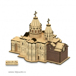 پازل سه بعدی کلیسای تادئوس مقدس، قره کلیسا