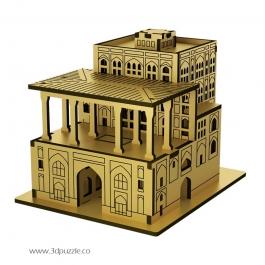 پازل سه بعدی کوچک کاخ عالی قاپو میکرو
